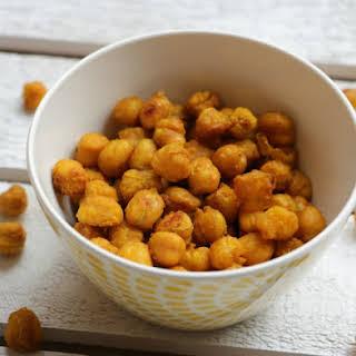 Crispy Turmeric Chickpeas.