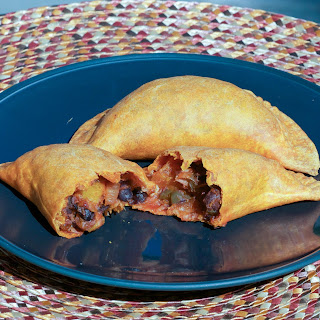 Roasted Butternut Squash and Black Bean Empanadas