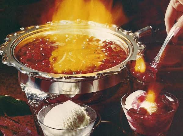Cranberries Jubilee Recipe