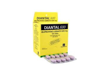 Solo Online Diantal 600 Mg Tab/Comp   x 100 Und