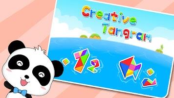 Screenshot of Creative Tangram