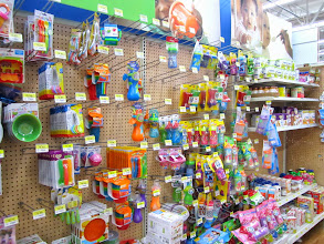 Photo: I also stopped by the sippy cup section to check out their selection
