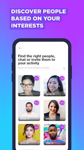 Jumppi:Join fun hangouts.Find dates & Make friends screenshots 1