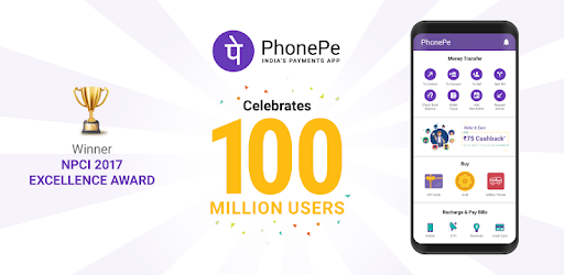 PhonePe – UPI Payments, Recharges & Money Transfer - Apps on