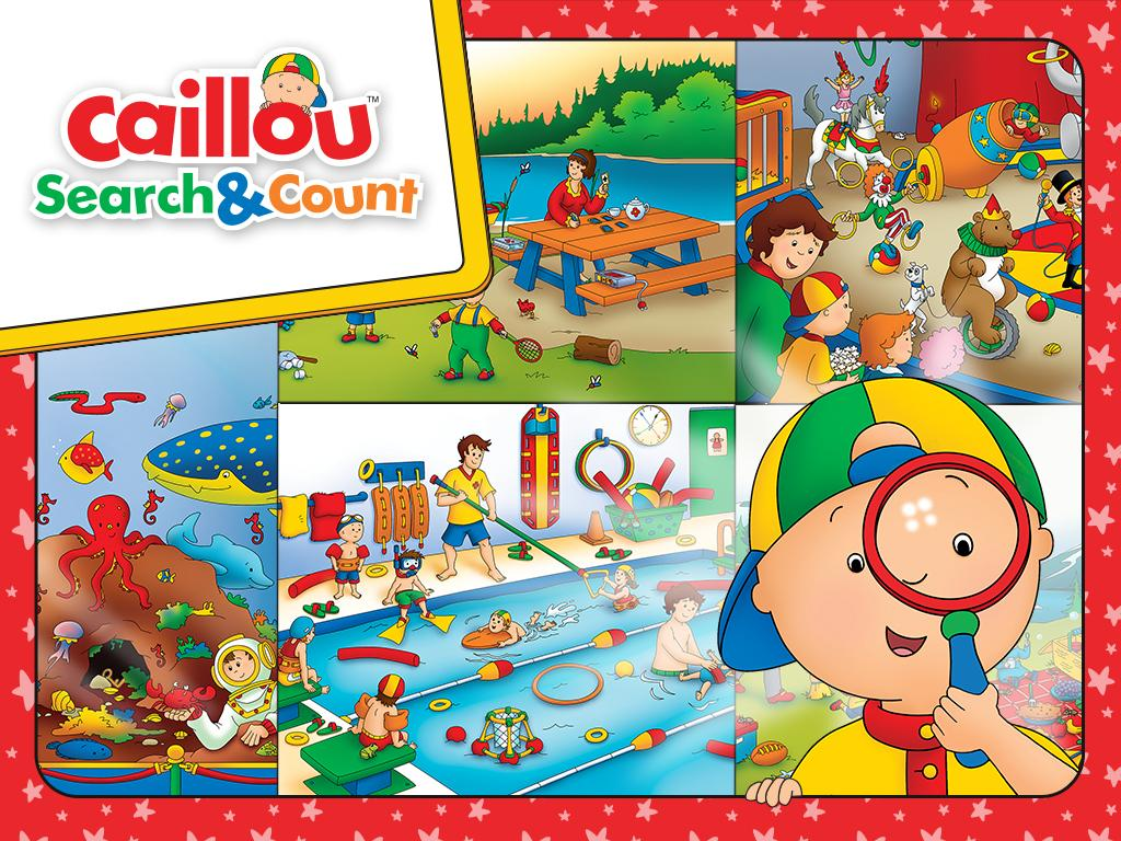 Caillou Search & Count- screenshot