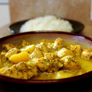 Jamaican Curry Chicken.