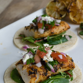 Open-Faced Pacific Cod Taco with Salsa Fresca