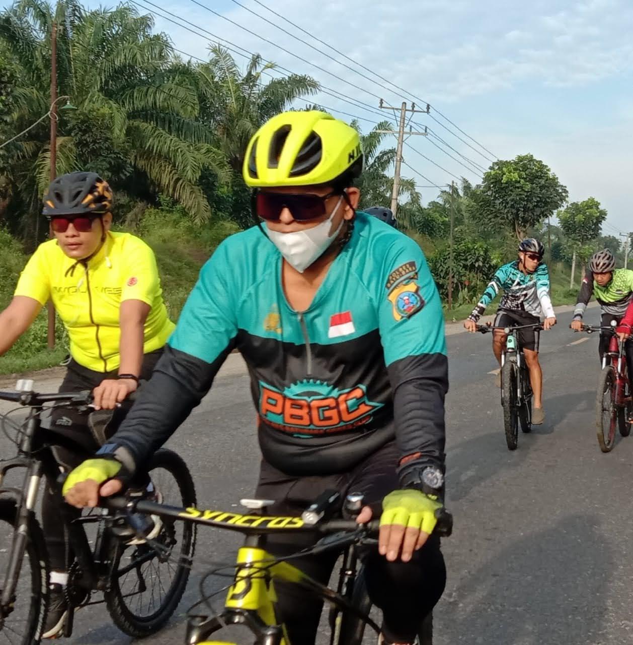 AKBP Ikhwan Lubis SH.MH : Olahraga Yang di Favoritkannya Bersepeda