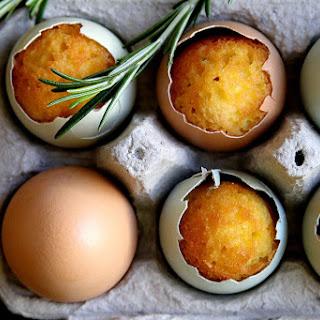 Rosemary Lemon Egg-Cupcakes, for Easter
