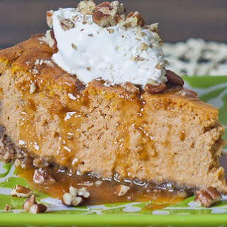 Pumpkin Ricotta Cheesecake.
