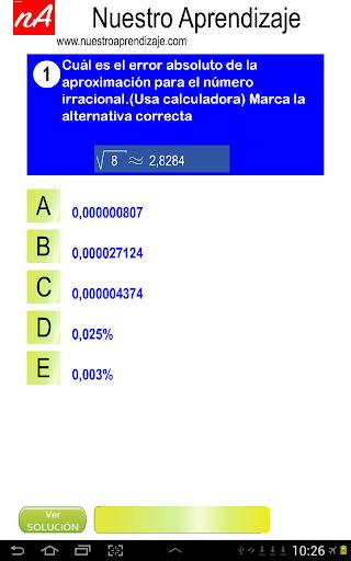 Nu00fameros Irracionales Aproximar 1.0.0 screenshots 3