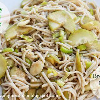 Brown Rice Noodle Salad
