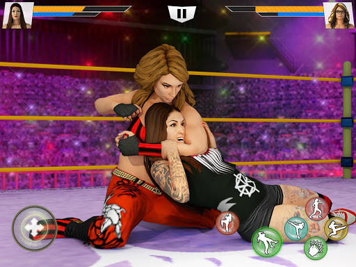 Bad Girls Wrestling Rumble: Women Fighting Games apktram screenshots 11