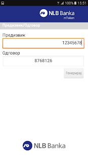 NLB Token Makedonija - náhled