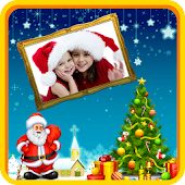 Christmas Stickers-Photo Frame