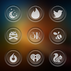 3K SR GLASS - Icon Pack icon