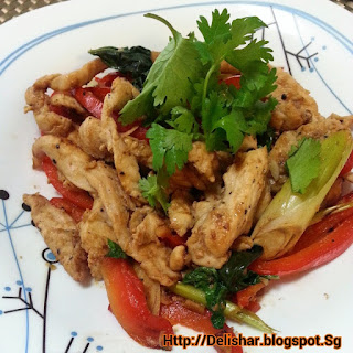 Lemongrass & Basil Chicken