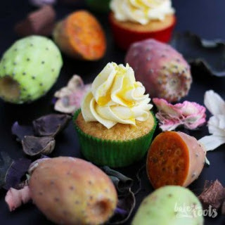 Prickly Pear Cupcakes.