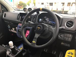 アルトワークス HA36S 4WD・5MTのステアリングのカスタム事例画像 ゆずきらむさんの2018年10月24日21:10の投稿