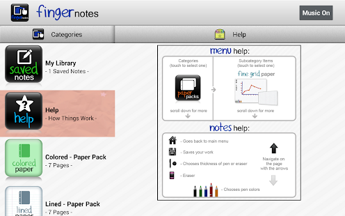 Finger Notes (Full)- screenshot thumbnail