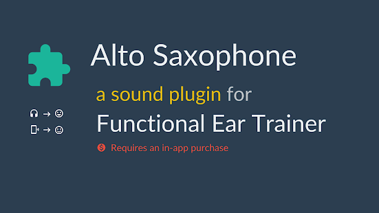 Alto Saxophone *Plugin*- screenshot thumbnail