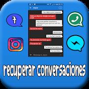 recuperar conversaciones borradas : mensajes&sms