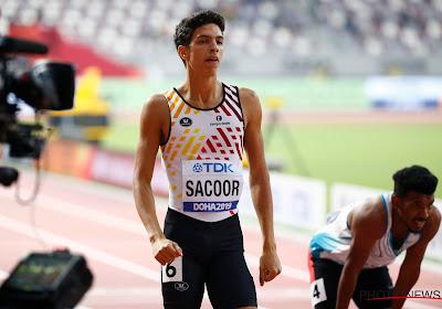Jonathan Sacoor en Hanne Claes naar halve finales 400m