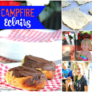 Easy Campfire Eclairs