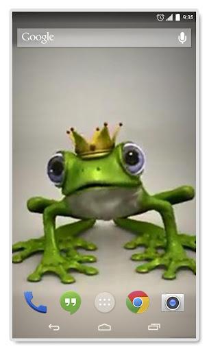 Royal Frog Live Wallpaper