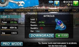 Screenshot of Drag Racing 4x4