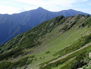 Photo: 北岳と富士山