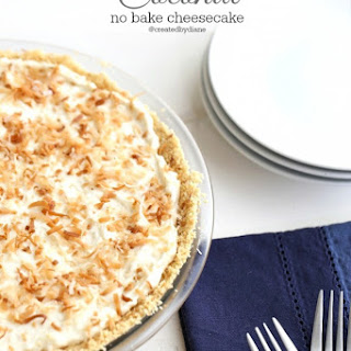 Coconut No Bake Cheesecake