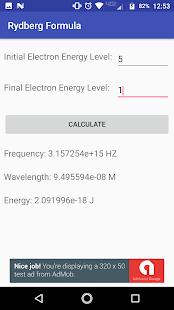 Photon - Chemistry Light Calculator - náhled