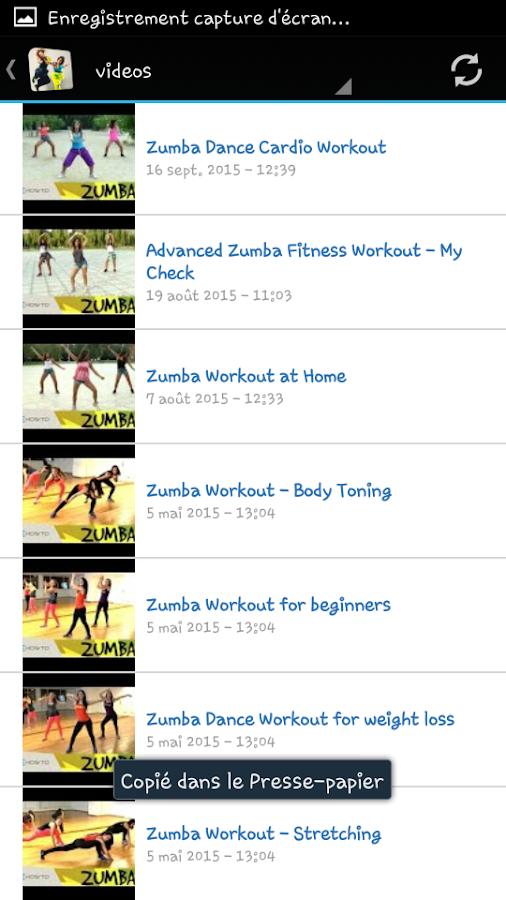 Zumba Dance Workout Screenshot