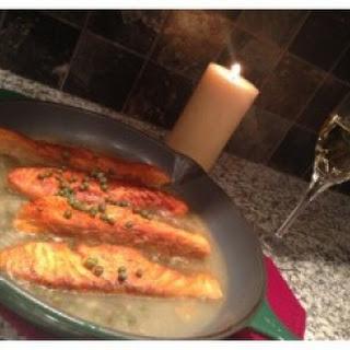 Salmon Piccata.