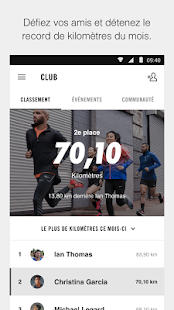 Nike+ Run Club Capture d'écran