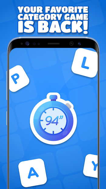 94 Seconds - Categories Game Android App Screenshot