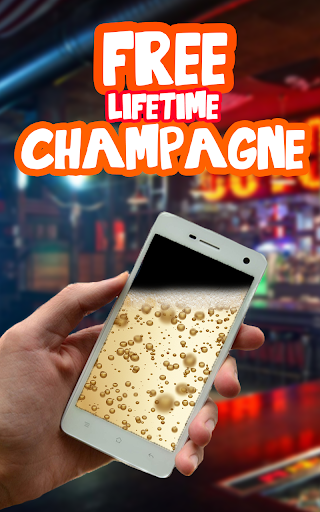 Free Lifetime Champagne