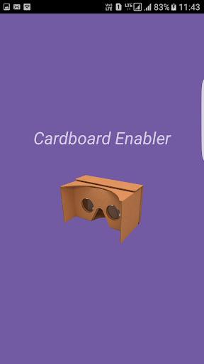 Cardboard Enabler