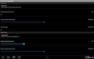 Screenshot of DroidSet Free
