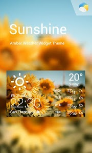 Sunny daily weather forecast screenshot 0