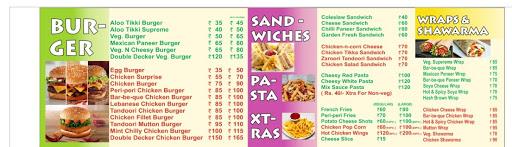 Burger Xpress menu 4