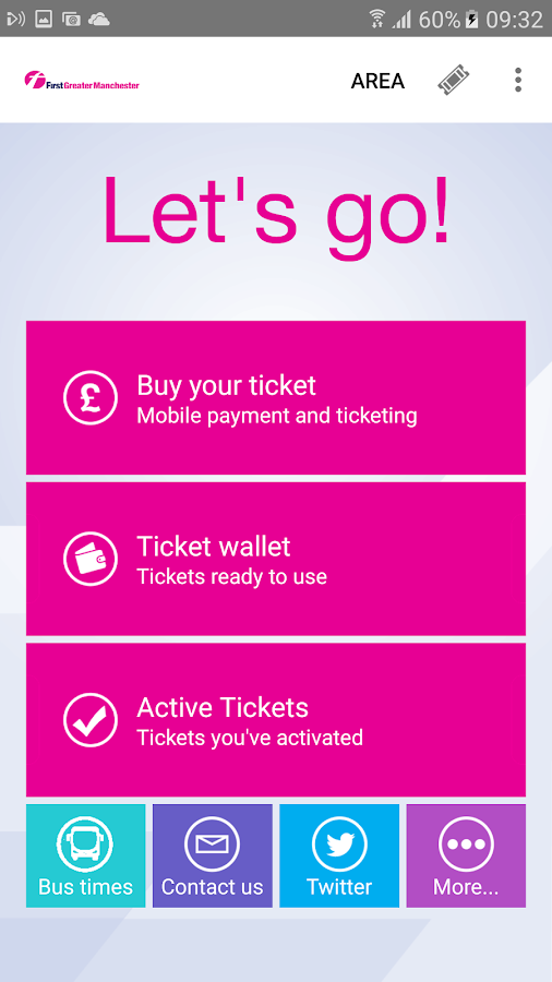 First Bus m-Tickets- screenshot