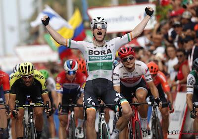 Er is weinig te doen aan Sam Bennett in de Ronde van Spanje, Tosh Van der Sande derde