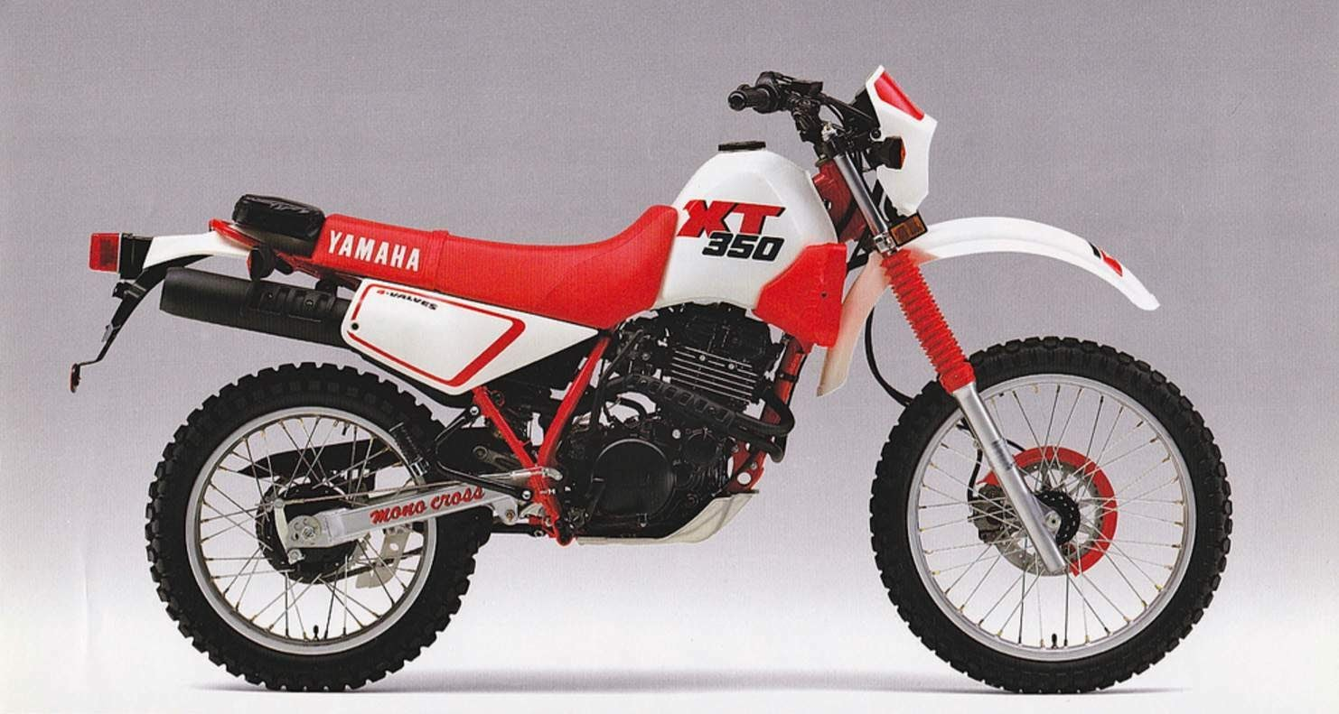 Yamaha XT 350-manual-taller-despiece-mecanica