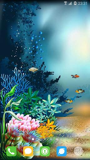 水族館海底世界動態壁紙