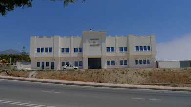 Photo: Nerja's recently completed, yet to open funeral centre.
