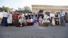 Las calles de Terque se llenaron de vestimentas y oficios tradicionales.