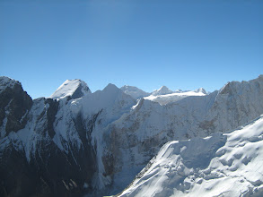 Photo: thats the top of Mt Shatopanth... as seen from summit
