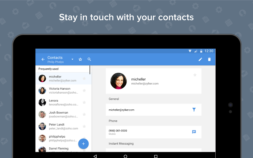 Screenshot 15 for Zoho Mail's Android app'